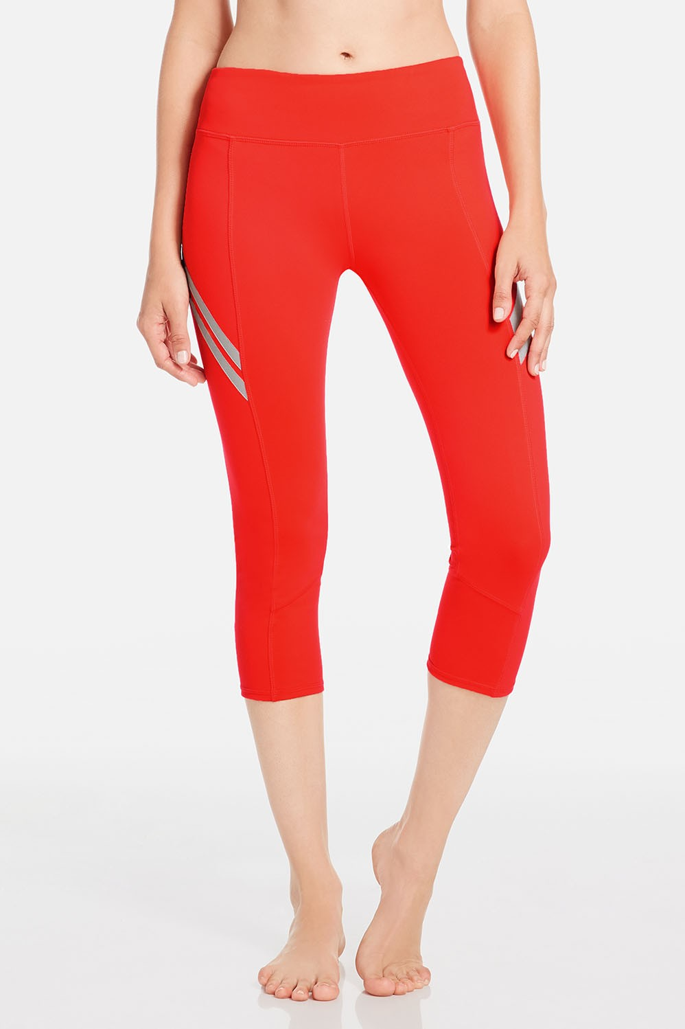Capris Aria Capri Womens Red