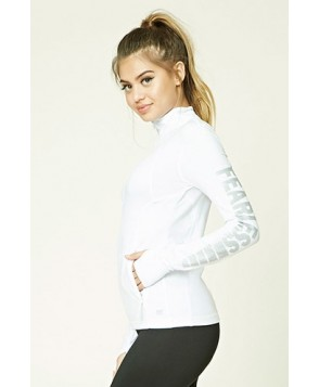 Forever 21 Active Fearless Graphic Jacket