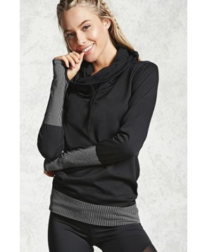 Forever 21 Active 09 Graphic Hooded Top
