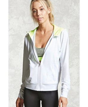 Forever 21 Active Zip-Up Hoodie