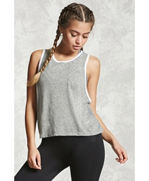 Forever 21 Active Contrast Trim Tank