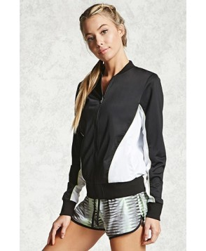Forever 21 Active Colorblock Track Jacket