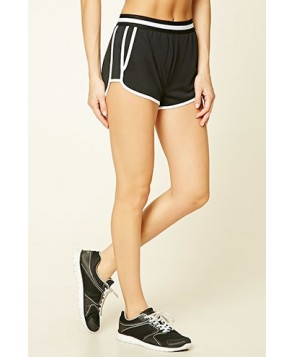 Forever 21 Active Striped Dolphin Shorts