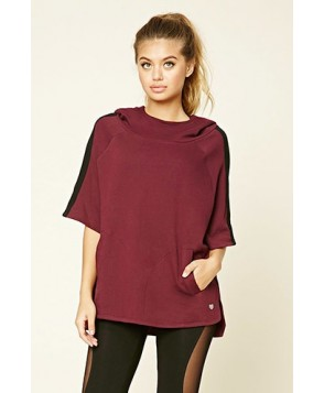 Forever 21 Active Hooded Poncho
