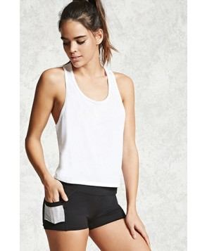 Forever 21 Active Perforated Shorts