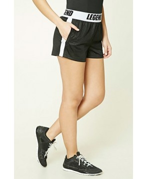 Forever 21 Active Legend Graphic Shorts