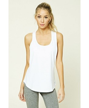 Forever 21 Active Mesh-Paneled Cutout Top