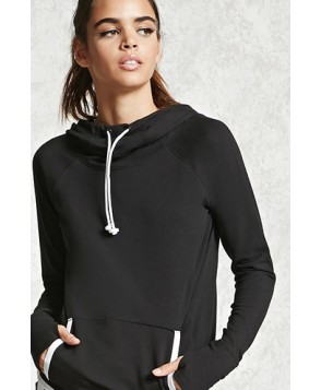 Forever 21 Active Cowl Neck Sweatshirt