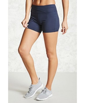Forever 21 Active Stretch-Knit Shorts