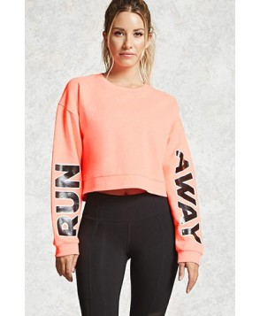 Forever 21 Active Run Away Sweatshirt