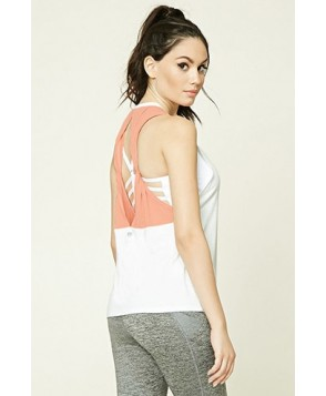 Forever 21 Active Mesh Cutout Tank