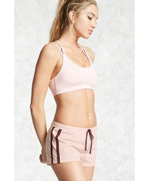 Forever 21 Active Contrast Trim Shorts