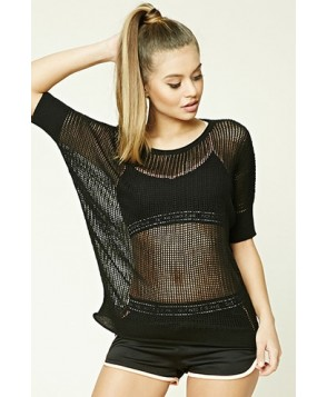 Forever 21 Active Mesh Top