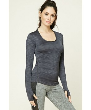 Forever 21 Active Ribbed Knit Top