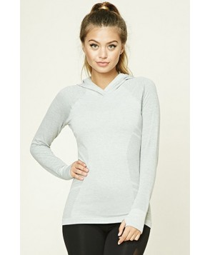 Forever 21 Active Seamless Hoodie Top