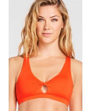 Fabletics Sports Bras Ellie Bra Womens Orange