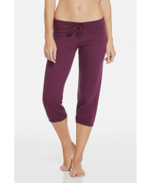 Fabletics Capris Hamilton Sweatpant Ii Womens Purple