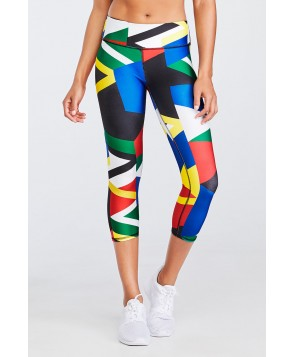 Fabletics Capris Salar Capri Womens Global Print