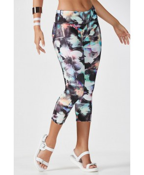 Fabletics Capris Salar Capri Womens Optical Floral Print