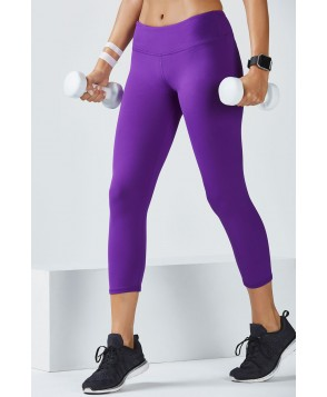Fabletics Capris Salar Capri Womens Purple
