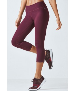 Fabletics Capris Salar Capri Womens Red