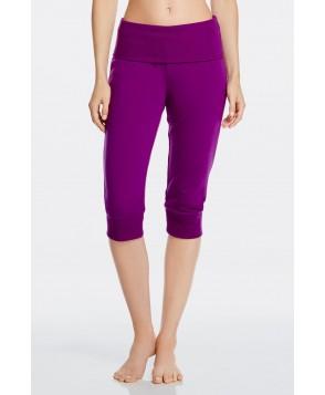 Fabletics Bottom Hamilton Sweatpant Foldover Womens Purple