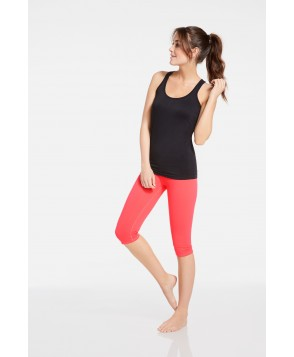Fabletics Opal Womens Black/Pink One  Fits Most