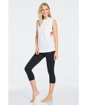 Fabletics Rift Womens White/Black One  Fits Most