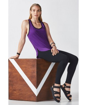 Fabletics Zeta Womens Purple/Black One  Fits Most