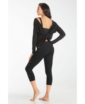 Fabletics Nova Womens Black/Black One  Fits Most