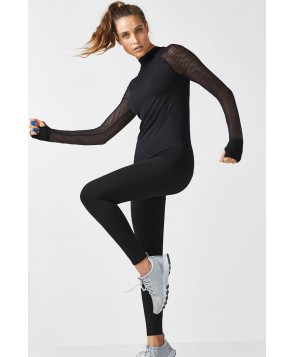 Fabletics Carroll Womens Black/Black One  Fits Most