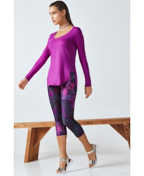 Fabletics Therma Womens Purple One  Fits Most