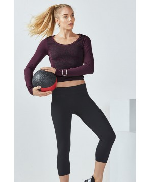 Fabletics Foxtail Womens Black One  Fits Most