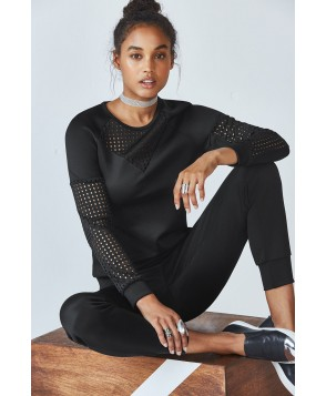 Fabletics Freya Womens Black/Black One  Fits Most