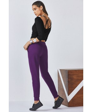 Fabletics Trudy Womens Black/Purple One  Fits Most