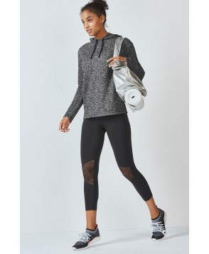 Fabletics Atari Womens Black Speckle One  Fits Most