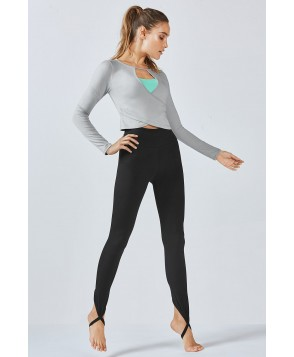 Fabletics Malaga Womens Gray/Black One  Fits Most