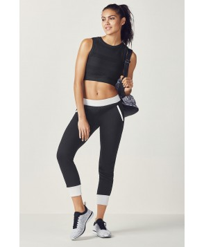 Fabletics Pipa Womens Black/White One  Fits Most