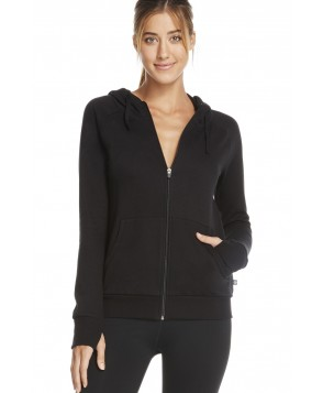 Fabletics Jackets Ginger Hoodie Womens Black
