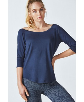 Fabletics Tees Palisades L/S Tee Womens Blue
