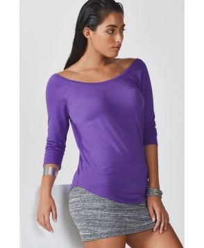 Fabletics Tees Palisades L/S Tee Womens Purple