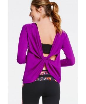 Fabletics Tees Aviana Top Womens Purple