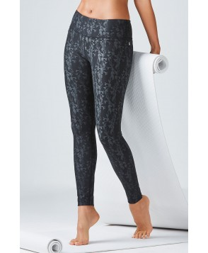 Fabletics Leggings Salar Legging Womens Black/Petal Print