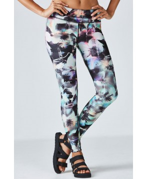 Fabletics Leggings Salar Legging Womens Optical Floral Print