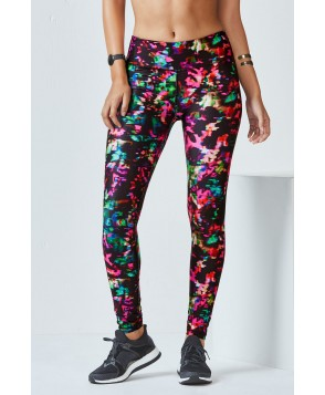 Fabletics Leggings Salar Legging Womens Chroma Print