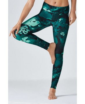 Fabletics Leggings Salar Legging Womens Nocturnal/Floral Print