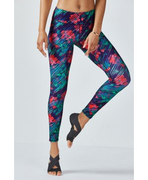 Fabletics Leggings Salar Legging Womens Garden Showers Print