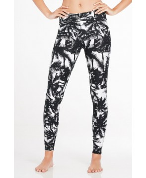 Fabletics Leggings Salar Legging Womens Malibu Print