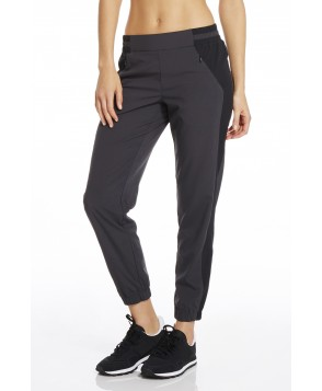 Fabletics Windsor Jogger Pants Womens Black/Gray