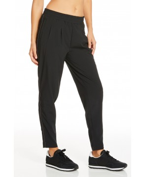 Fabletics Hartford Jogger Pants Womens Black/Gray